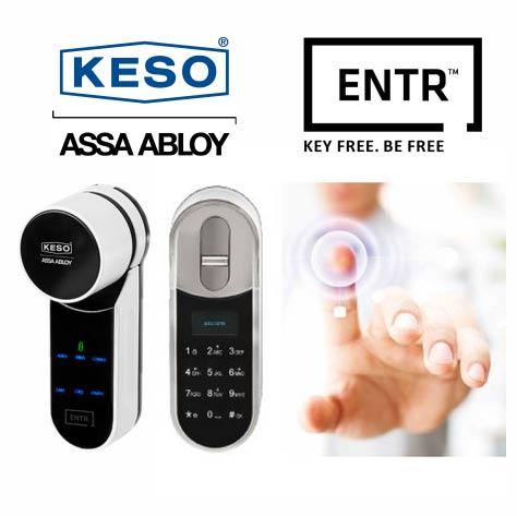 Zamek elektroniczny Keso Entr
