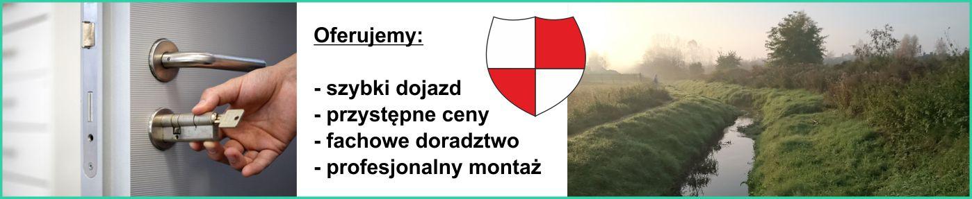 Montaż i wymiana zamka w drzwiach Józefosław
